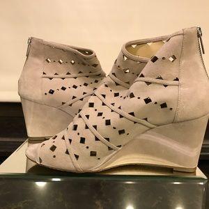 Size 10 Michael Kors peep toe booties